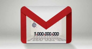 Gmail : 1 milliard d'utilisateurs