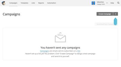 Créer une campagne MailChimp