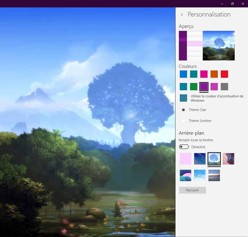 personnaliser Windows 10 temps d'installation
