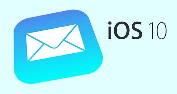 Mail iOS 10