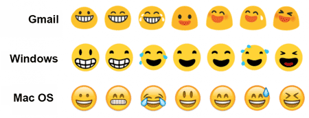 how to change outlook emoji colour